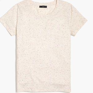 J Crew speckled broken in T-Shirt